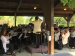 MSO performance for veterans at Lake Wheeler Pavillion